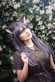 Cosplay-Cover: Forest Wolf Girl『Own Design』