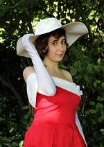 Cosplay-Cover: Yukiko Kudo - The Wandering Red Butterfly Version