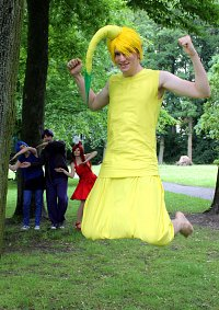 Cosplay-Cover: Pikmin Gelb