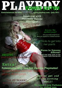 Cosplay-Cover: Emily Headshot [Zombie Nurse]