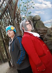 Cosplay-Cover: Miles Edgeworth