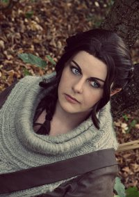 Cosplay-Cover: Katniss Everdeen (Catching Fire Hunting Outfit)