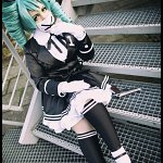 Cosplay: Miku Hatsune [Secret Police]