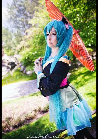 Cosplay-Cover: Miku ~ Butterfly