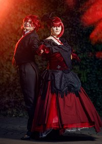 Cosplay-Cover: Grell Sutcliff (Chapter 100 Jubiläums-Cover-Versio
