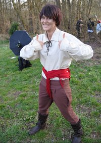Cosplay-Cover: Spanien Tomatenfeld-Outfit