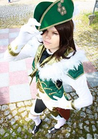 Cosplay-Cover: Female Musketeer