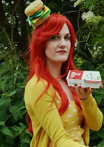 Cosplay-Cover: Ein Burger