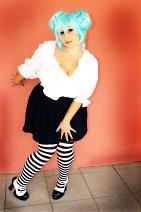 Cosplay-Cover: Miku Hatsune - Fanartversion