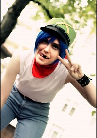 Cosplay-Cover: 2-D [Plastic Beach Ident]