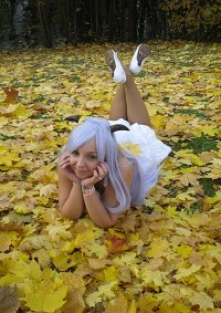 Cosplay-Cover: Hanyuu Furude [white Dress]