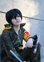 Cosplay-Cover: Kyouya Hibari - Army jumpsuit
