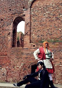 Cosplay-Cover: Kazuto Kirigaya; Kirito [EP2 / Mitternachtsmantel]
