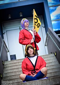 Cosplay-Cover: Yuki Nagato (Schulsportuniform)