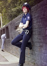 Cosplay-Cover: Officer Rin Matsuoka (Stripper Version)