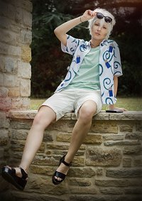 Cosplay-Cover: Gintoki Sakata [Hawaii]