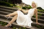 "Cosplay-Cover: Marilyn Monroe ""The Seven Year Itch"""