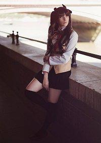 Cosplay-Cover: Tohsaka Rin (Schuluniform)