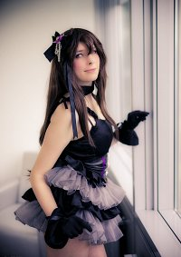 Cosplay-Cover: Shibuya Rin (Black Dres)