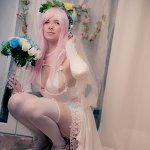 Cosplay: Super Sonico (Bride)