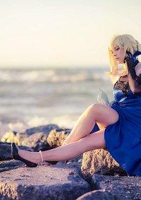 Cosplay-Cover: Saber Arturia Pendragon  (Blue Dress Fate EX)