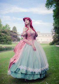Cosplay-Cover: Arielle (Pink Dress Barock)