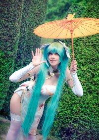 Cosplay-Cover: Miku Hatsune (Chinese Dress)