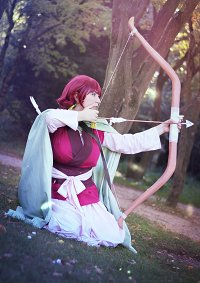 Cosplay-Cover: Prinzessin Yona