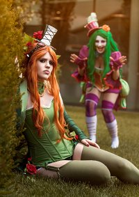 Cosplay-Cover: Poison Ivy (Victorian)