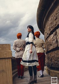 Cosplay-Cover: Elizabeth Comstock - Young -