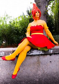 Cosplay-Cover: Flame Princess [Magical Girl]