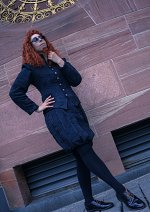 Cosplay-Cover: Crowley [Good Omens - Globe Theatre, London 1601]
