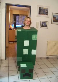 Cosplay-Cover: Creeper