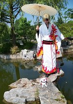 Cosplay-Cover: Fye [Flammenkimono]