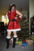 Cosplay-Cover: Weihnachtsgirl