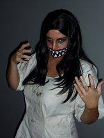 Cosplay-Cover: Creepy Face Women *Eigenkreation Halloween*