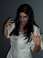 Cosplay-Cover: Creepy Face Women *Eigenkreation Halloween*