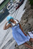 Cosplay-Cover: Rei Ayanami *summer vacation*