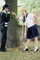 Cosplay-Cover: Usagi Tsukino *Juban Highschool Sommeruniform*