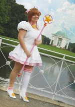 Cosplay-Cover: Sakura Kinomoto *Platinum Dress*