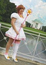 Cosplay-Cover: Sakura Kinomoto *Platinum Dress*