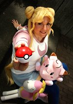 Cosplay-Cover: Usagi Taukino *Pokemon Trainer Fanart*