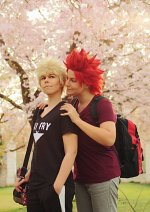 Cosplay-Cover: Kirishima Eijiro *Casual Trainingscamp Season 3*
