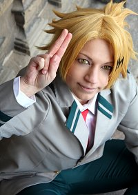 Cosplay-Cover: Denki Kaminari - School Uniform