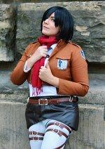 Cosplay-Cover: XXX Mikasa Ackerman *Scouting Legion*