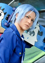 Cosplay-Cover: Hasegawa Langa - Standard Outfit Blau