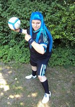 Cosplay-Cover: Saix Fußball Outfit