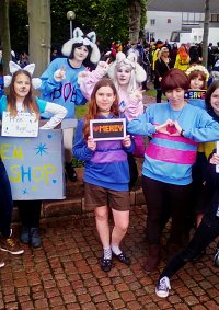 Cosplay-Cover: Frisk