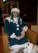 Cosplay-Cover: Neptune Christmas Dress (Artbook-Version)