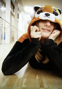 Cosplay-Cover: Roter Panda